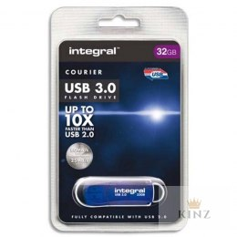 Integral Courier USB 3.0 Flash Drive - Pendrive USB 3.0 32 GB 140/22 MB/s Integral